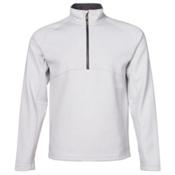 Spyder Vectre Half-Zip Fleece Mens Mid Layer, Cirrus-Polar, medium