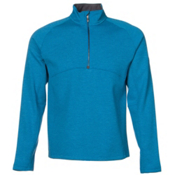 Spyder Vectre Half-Zip Fleece Mens Mid Layer, Concept Blue-Polar, medium