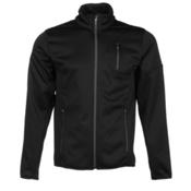 Spyder Bandit Full Zip Mens Jacket (Previous Season), Black-Polar, medium