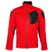 Spyder Core Legend 3L Full Zip Mens Sweater, Volcano-Polar-Black, medium