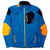Spyder Core Legend 3L Full Zip Mens Sweater (Previous Season), Concept Blue-Bryte Orange-Blac, medium