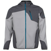 Spyder Core Stated Novelty Mens Hoodie (Previous Season), Cirrus-Polar-Electric Blue, medium