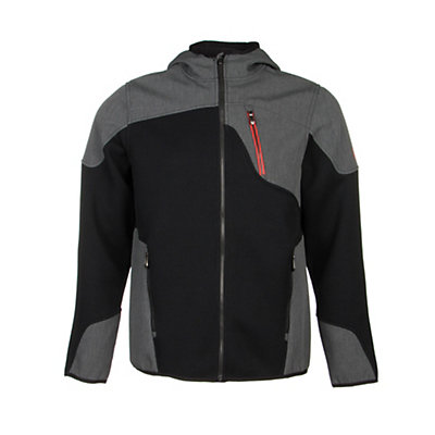 Spyder Core Stated Novelty Hoody (Previous Season), Black-Volcano, viewer