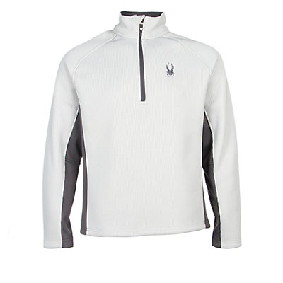 Spyder Core Pitch Half Zip Mens Sweater (Previous Season), Cirrus-Polar, viewer