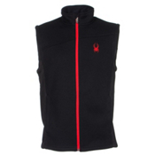 Spyder Core Constant Mens Vest, Black-Volcano, medium