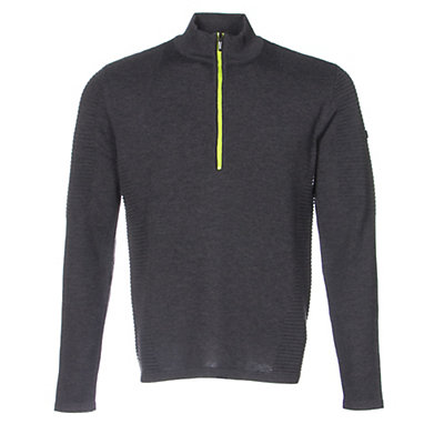 Spyder Drayke Half Zip Mens Sweater (Previous Season), Polar-Theory Green, viewer