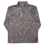 Spyder Anti Web Dry WEB T-Neck Mens Mid Layer, Polar-Theory Green, medium