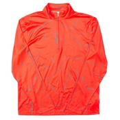 Spyder Anti Web Dry WEB T-Neck Mens Mid Layer, Volcano-Polar, medium