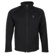Spyder Core Foremost Full Zip Mens Sweater, Black-Black, medium