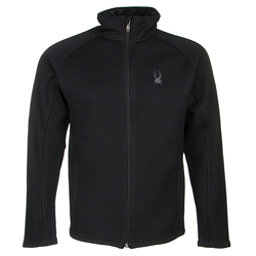 Spyder Core Foremost Full Zip Mens Sweater, Black-Black, 256