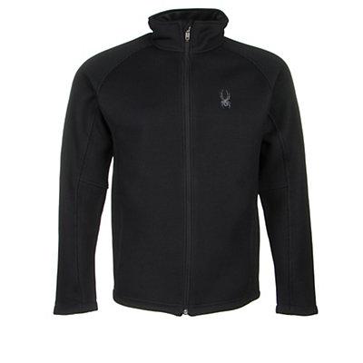 Spyder Core Foremost Full Zip Mens Sweater, Polar-Black, viewer