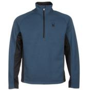 Spyder Core Outbound Half-Zip Mens Sweater, Sagan-Black-Black, medium