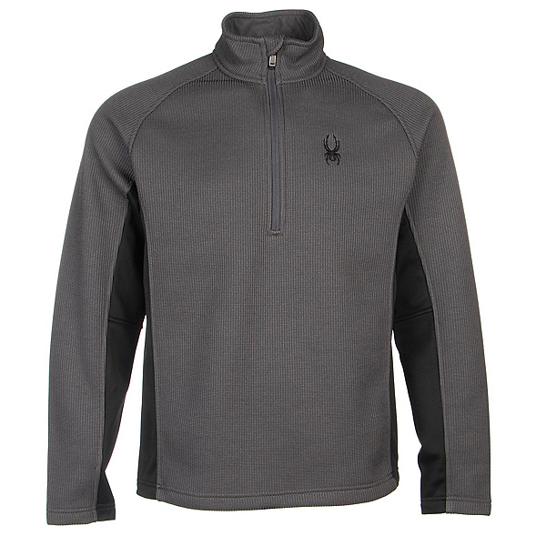 Spyder Core Outbound Half-Zip Mens Sweater (Previous Season), Polar-Black-Polar, 600