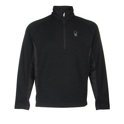 Spyder Core Outbound Half-Zip Mens Sweater, Polar-Black-Polar, viewer