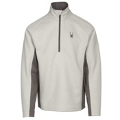 Spyder Core Outbound Half-Zip Mens Sweater, Cirrus-Polar-Polar, medium