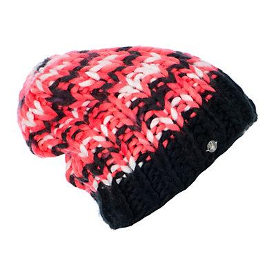 Spyder Mosaic Womens Hat (Previous Season), Black-Bryte Pink-White, viewer