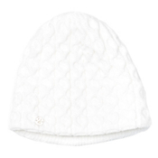 Spyder Cable Womens Hat, White, medium