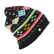 Spyder Apres Womens Hat, Black-Multi, medium