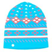 Spyder Apres Womens Hat, Riviera-Bryte Pink-White, medium
