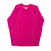 Spyder Olympian Womens Long Underwear Top (Previous Season), Wild-Bryte Pink, medium