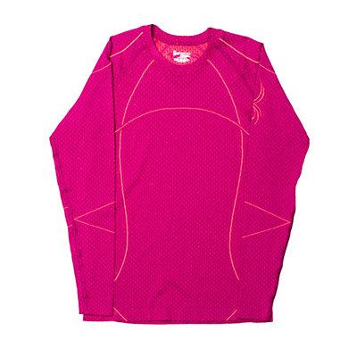 Spyder Olympian Womens Long Underwear Top (Previous Season), Wild-Bryte Pink, viewer