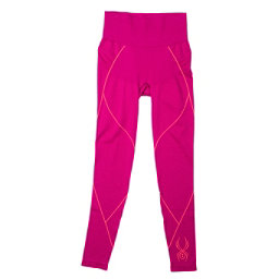 Spyder Olympian Womens Long Underwear Pants (Previous Season), Wild-Bryte Pink, 256