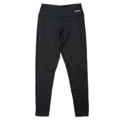 Spyder Athlete T-Hot Wool Womens Long Underwear Pants, Black-Black, medium