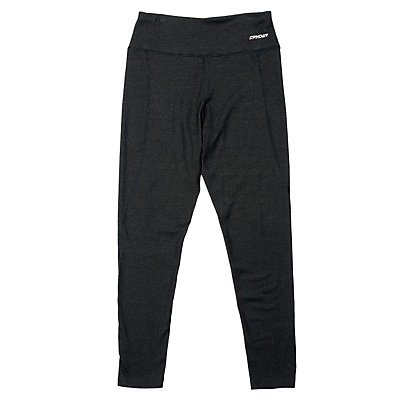 Spyder Athlete T-Hot Wool Womens Long Underwear Pants (Previous Season), Black-Black, viewer