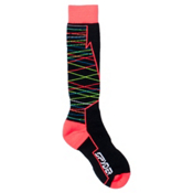 Spyder Orycle Ski Socks - 3 Pack, Black-Bryte Pink, medium