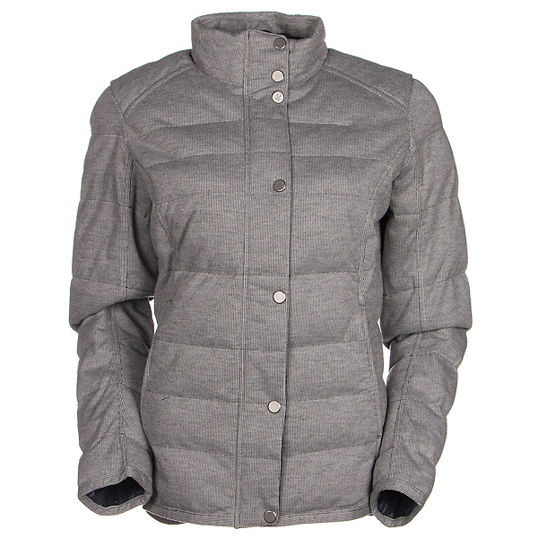 Spyder Vyvyd Synthetic Down Womens Jacket (Previous Season), Image Gray Stripe Fabric, 600