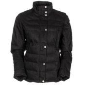 Spyder Vyvyd Synthetic Down Womens Jacket, Black Denim, medium
