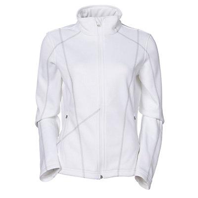 Spyder Bandita Fleece Womens Jacket (Previous Season), Black-Silver, viewer