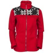 Spyder Core Criss Full Zip Womens Sweater (Previous Season), Vampire-Black-White, medium