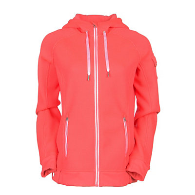 Spyder Core Ardent Full Zip Womens Sweater (Previous Season), Bryte Pink-White, viewer