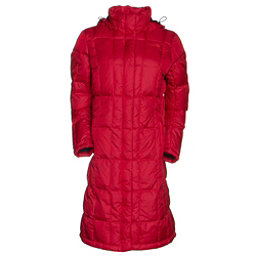 The North Face Metropolis Parka Womens Jacket, TNF Red-TNF Red, 256