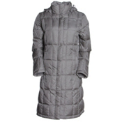 The North Face Metropolis Parka Womens Jacket, Metallic Silver, medium