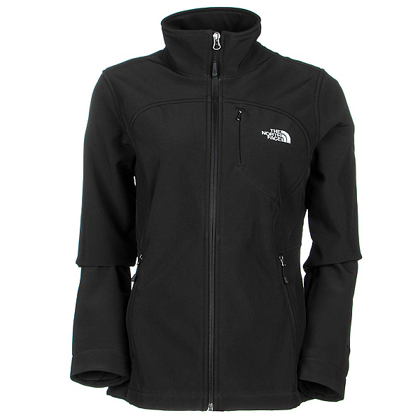 The North Face Apex Bionic Womens Soft Shell Jacket, TNF Black, 600
