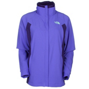 The North Face Ruby Raschel Womens Soft Shell Jacket, Starry Purple-Garnet Purple, medium