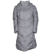 The North Face Miss Metro Parka Womens Jacket, Metallic Silver, medium