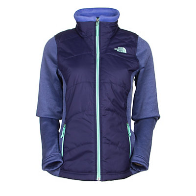 The North Face Agave Mash-Up Womens Jacket, TNF Black-TNF Black Heather, viewer