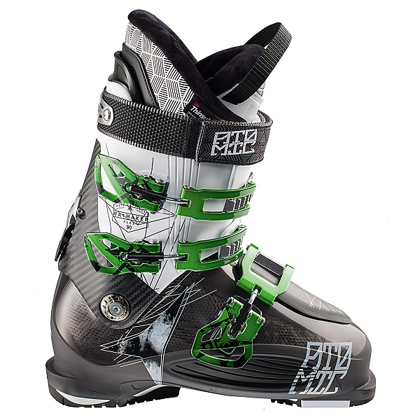 Atomic Waymaker 90 Ski Boots, Black Translucent-White, 600