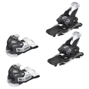 Tyrolia Attack 13 Ski Bindings, Solid Black-White, medium