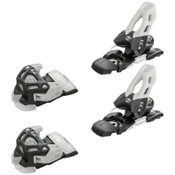 Tyrolia Attack 11 Ski Bindings, Solid Black-White, medium