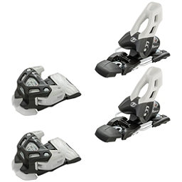 Tyrolia Attack 11 Ski Bindings, Solid Black-White, 256