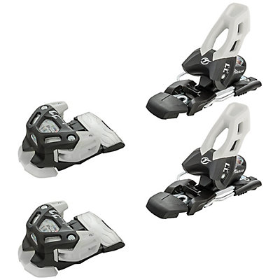 Tyrolia Attack 11 Ski Bindings, Solid Black-White, viewer