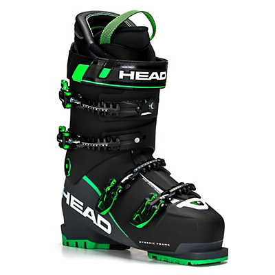 Head Vector EVO 120 Ski Boots, Black-Anthracite Green, viewer