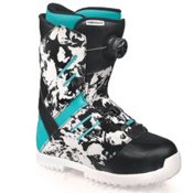 Flow Deelite Coiler Womens Snowboard Boots, Camo-Blue, medium