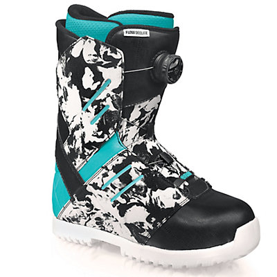 Flow Deelite Coiler Womens Snowboard Boots, Black, viewer