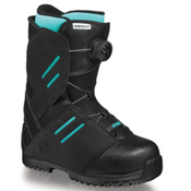 Flow Deelite Coiler Womens Snowboard Boots, Black, medium