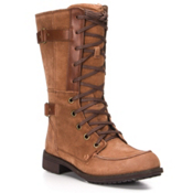 The North Face Bridgeton Lace Womens Boots, Dachshund Brown-Demitasse Brow, medium